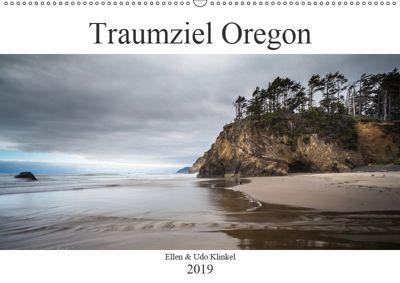 Traumziel Oregon (Wandkalender 2019 DIN A2 quer), Ellen Klinkel