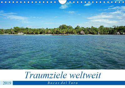 Traumziele weltweit - Bocas del Toro (Wandkalender 2019 DIN A4 quer), Christian Schnoor