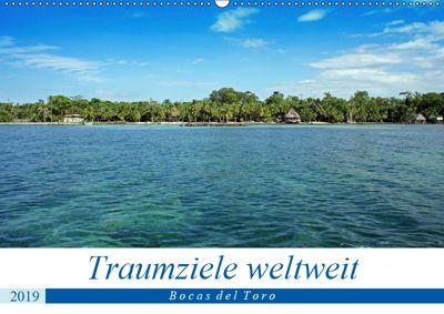 Traumziele weltweit - Bocas del Toro (Wandkalender 2019 DIN A2 quer), Christian Schnoor