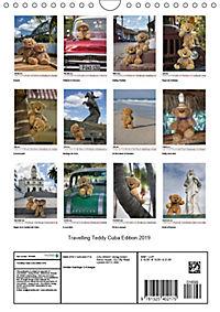 Travelling Teddy Cuba Edition 2019 (Wall Calendar 2019 DIN A4 Portrait) - Produktdetailbild 13