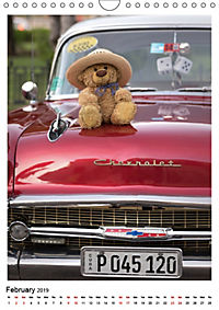 Travelling Teddy Cuba Edition 2019 (Wall Calendar 2019 DIN A4 Portrait) - Produktdetailbild 2
