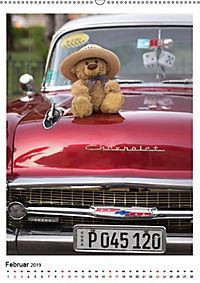 Travelling Teddy Kuba Edition 2019 (Wandkalender 2019 DIN A2 hoch) - Produktdetailbild 2