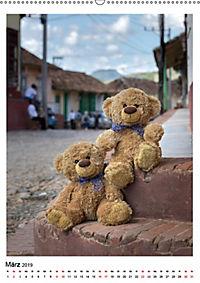 Travelling Teddy Kuba Edition 2019 (Wandkalender 2019 DIN A2 hoch) - Produktdetailbild 3