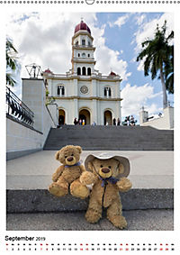 Travelling Teddy Kuba Edition 2019 (Wandkalender 2019 DIN A2 hoch) - Produktdetailbild 9