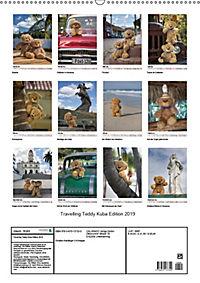 Travelling Teddy Kuba Edition 2019 (Wandkalender 2019 DIN A2 hoch) - Produktdetailbild 13