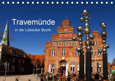 Travemünde in der Lübecker Bucht (Tischkalender 2019 DIN A5 quer), Tanja Riedel