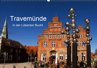 Travemünde in der Lübecker Bucht (Wandkalender 2019 DIN A2 quer), Tanja Riedel