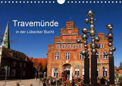Travemünde in der Lübecker Bucht (Wandkalender 2019 DIN A4 quer), Tanja Riedel