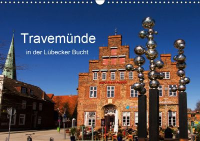 Travemünde in der Lübecker Bucht (Wandkalender 2019 DIN A3 quer), Tanja Riedel