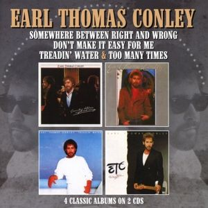 Treadin' Water/Too Many Times/++(4 Albums On 2cd), Earl Thomas Conley