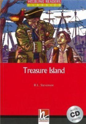 Treasure Island, m. 1 Audio-CD, R. L. Stevenson