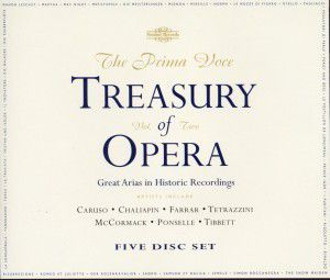 Treasures Of Opera Vol.2, Caruso, Chaliapin, Farrar