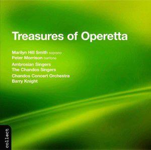 Treasures Of Operetta, Smith, Morrison, Chandos Concert Orchestra