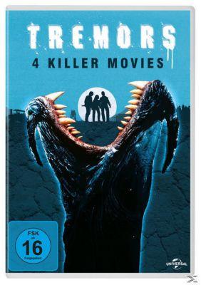Tremors 1-4 DVD-Box, S. S. Wilson, Brent Maddock, Ron Underwood, Nancy Roberts, John Whelpley, Scott Buck