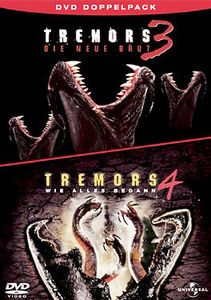 Tremors 3 - Die neue Brut / Tremors 4 - Wie alles begann, Shawn Christian,Susan Chuang Michael Gross