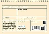 Trentino - Von den Dolomiten bis zum Gardasee (Tischkalender 2019 DIN A5 quer) - Produktdetailbild 13