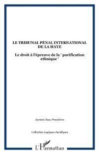 Tribunal penal international de la haye, JURISTES SANS FRONTIERES