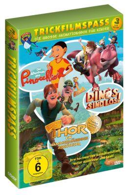 Trickfilmspass - Die grosse Animationsbox für Kinder