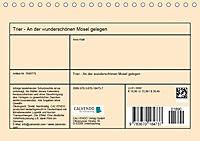 Trier - An der wunderschönen Mosel gelegen (Tischkalender 2019 DIN A5 quer) - Produktdetailbild 13