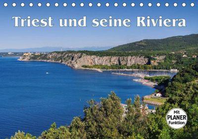 Triest und seine Riviera (Tischkalender 2019 DIN A5 quer), k.A. LianeM
