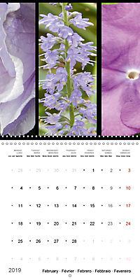 Trilogy of flower colours (Wall Calendar 2019 300 × 300 mm Square) - Produktdetailbild 2