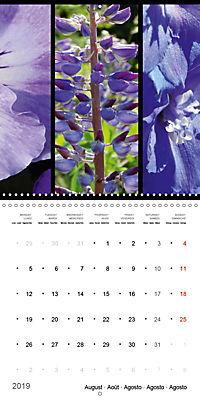 Trilogy of flower colours (Wall Calendar 2019 300 × 300 mm Square) - Produktdetailbild 8