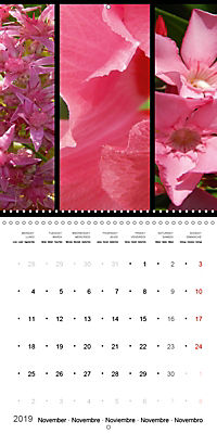 Trilogy of flower colours (Wall Calendar 2019 300 × 300 mm Square) - Produktdetailbild 11