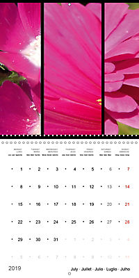 Trilogy of flower colours (Wall Calendar 2019 300 × 300 mm Square) - Produktdetailbild 7