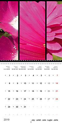 Trilogy of flower colours (Wall Calendar 2019 300 × 300 mm Square) - Produktdetailbild 7