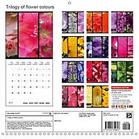 Trilogy of flower colours (Wall Calendar 2019 300 × 300 mm Square) - Produktdetailbild 13