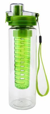 Trinkflasche mit Aromaeinsatz, grün