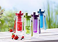 Trinkflasche mit Aromaeinsatz, lila - Produktdetailbild 1