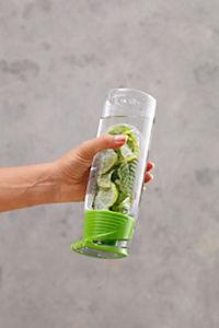 Trinkflasche mit Infuser, 750ml, grün - Produktdetailbild 3