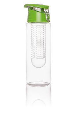 Trinkflasche mit Infuser, 750ml, grün