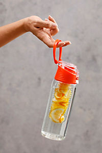 Trinkflasche mit Infuser, 750ml, orange - Produktdetailbild 3