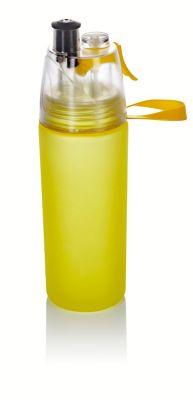 Trinkflasche mit Sprühnebel, 550ml lime