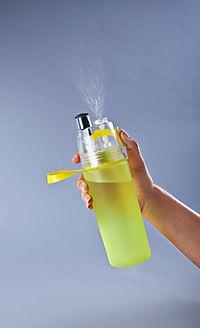 Trinkflasche mit Sprühnebel, 550ml lime - Produktdetailbild 1