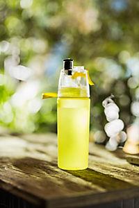 Trinkflasche mit Sprühnebel, 550ml lime - Produktdetailbild 2