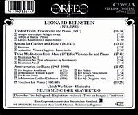 Trio/Klarinettensonate/Meditations/Anniversaries/+ - Produktdetailbild 1