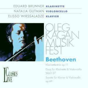 Trio Op.11/sonate Op.69, Brunner, Gutman, Wirssaladze