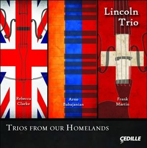 Trios From Our Homelands, Lincoln Trio