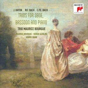 Trios Für Oboe,Fagott &  Klavier, Sergio Azzolini, Maurice Bourgue, Kimiko Imani