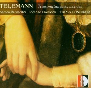 Triosonatas For Oboe & Recorde, Tripla Concordia, Bernardini, Cavasanti