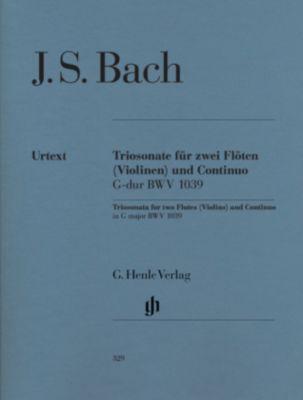 Triosonate für zwei Flöten und Continuo G-Dur BWV 1039, Johann Sebastian Bach