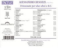 Triosonaten Für 2 Oboen Und Bc - Produktdetailbild 1