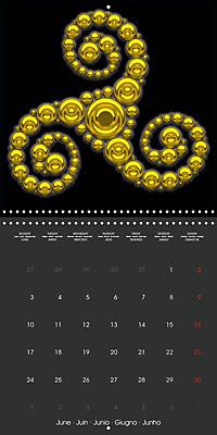 Triskel (Wall Calendar 2019 300 × 300 mm Square) - Produktdetailbild 6