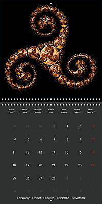Triskel (Wall Calendar 2019 300 × 300 mm Square) - Produktdetailbild 2