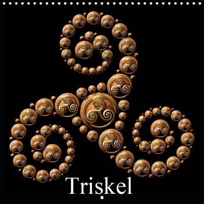 Triskel (Wall Calendar 2019 300 × 300 mm Square), Bluesax