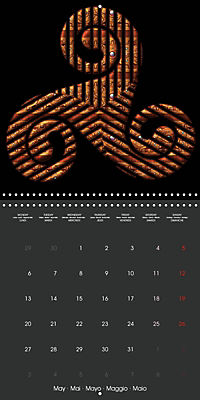 Triskel (Wall Calendar 2019 300 × 300 mm Square) - Produktdetailbild 5