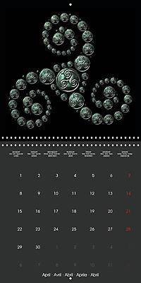 Triskel (Wall Calendar 2019 300 × 300 mm Square) - Produktdetailbild 4